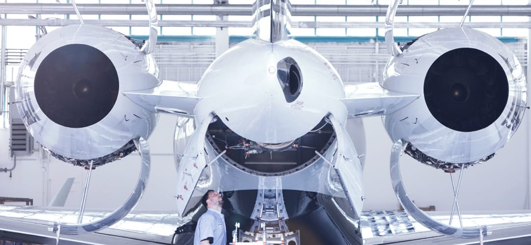 Lufthansa Bombardier Aviation Services is exclusively dedicated to supporting Bombardier business aircraft.