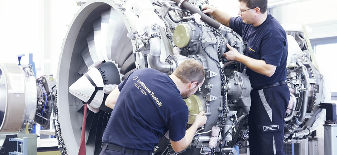 Lufthansa Technik AERO Alzey specializes in the maintenance of turbofan and turboprop engines for regional airliners.