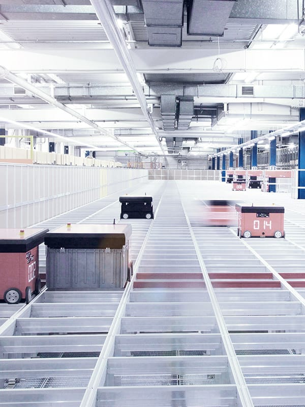 Warehousing at Lufthansa Technik for optimal material supply