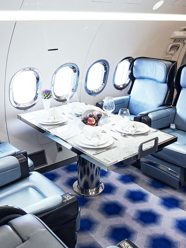 More you: Seize more from life in your VIP jet