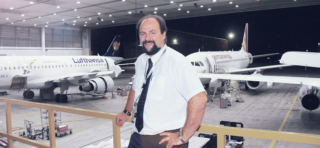 Nils Borkheim; Maintenance Manager at Lufthansa Technik