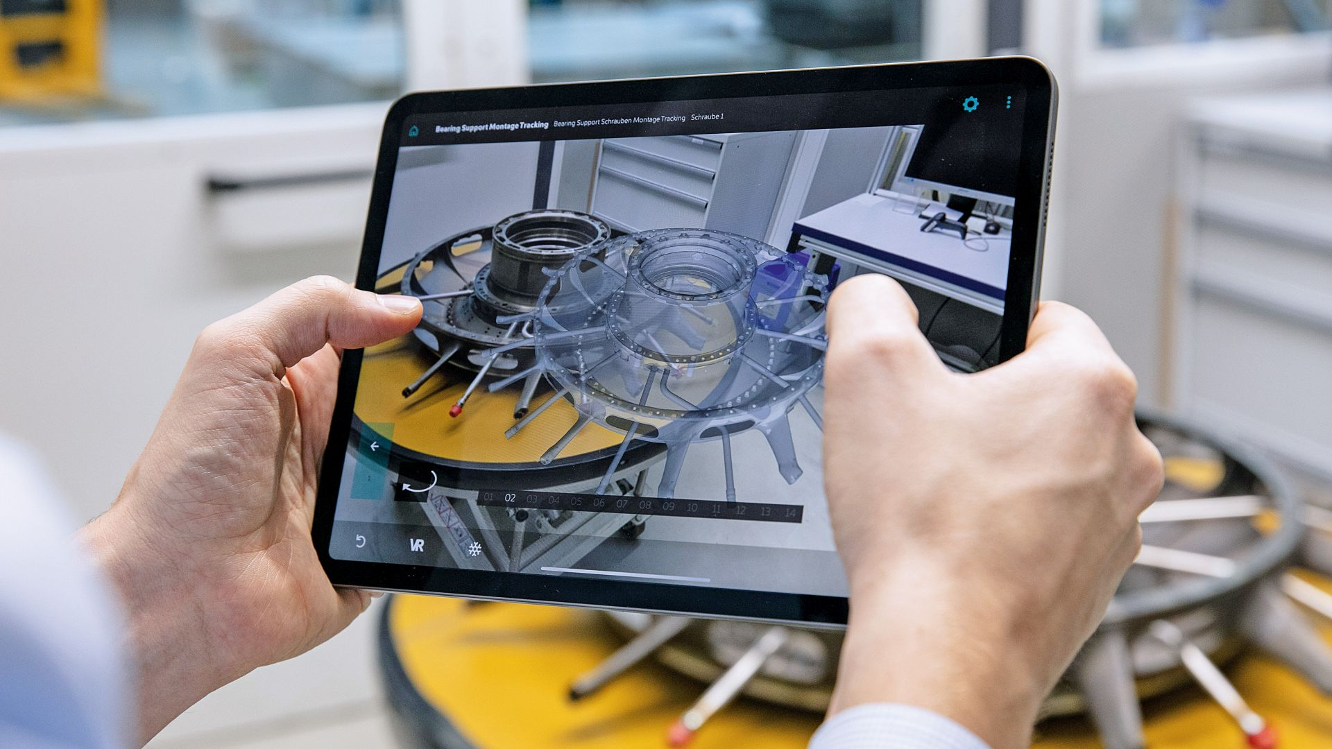 Augmented reality reaches the shop floor