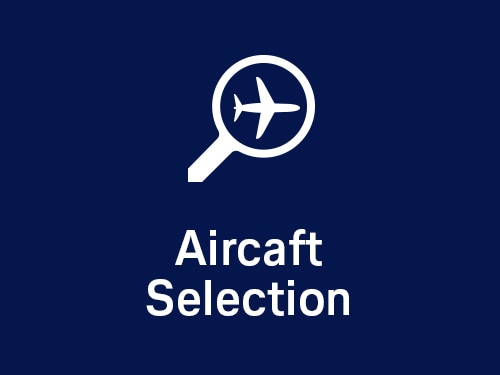 VIP life cycle support - Aircraft Selection