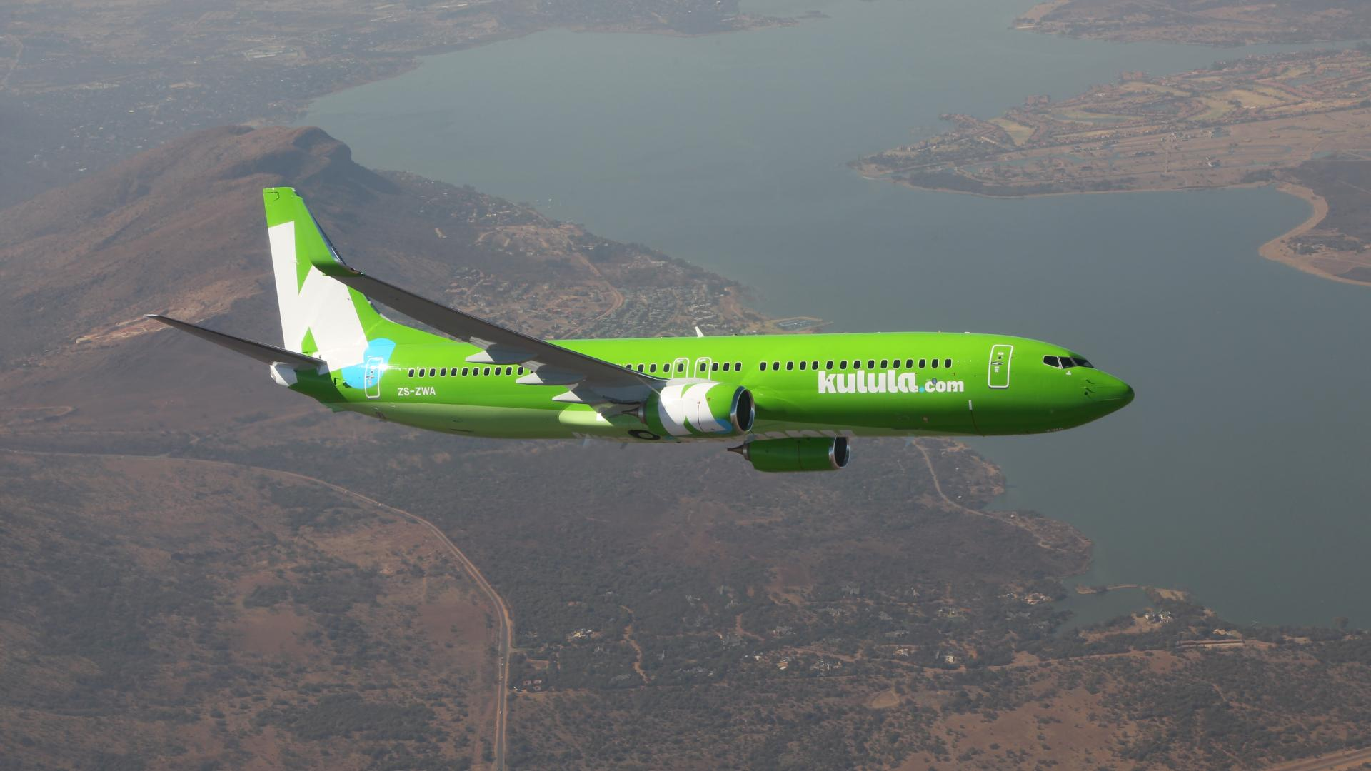 Boeing 737 of Comair under technical support of Lufthansa Technik