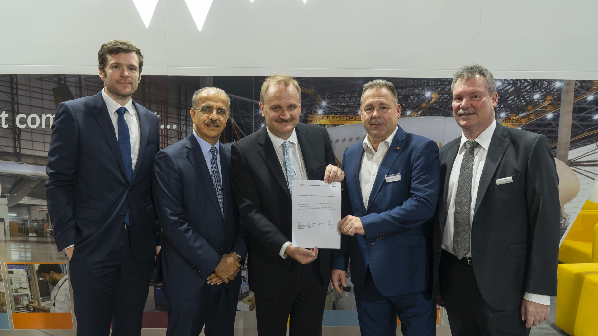Etihad Engineering, SCHOTT, jetlite and Lufthansa Technik to cooperate on Human-Centric Lighting development