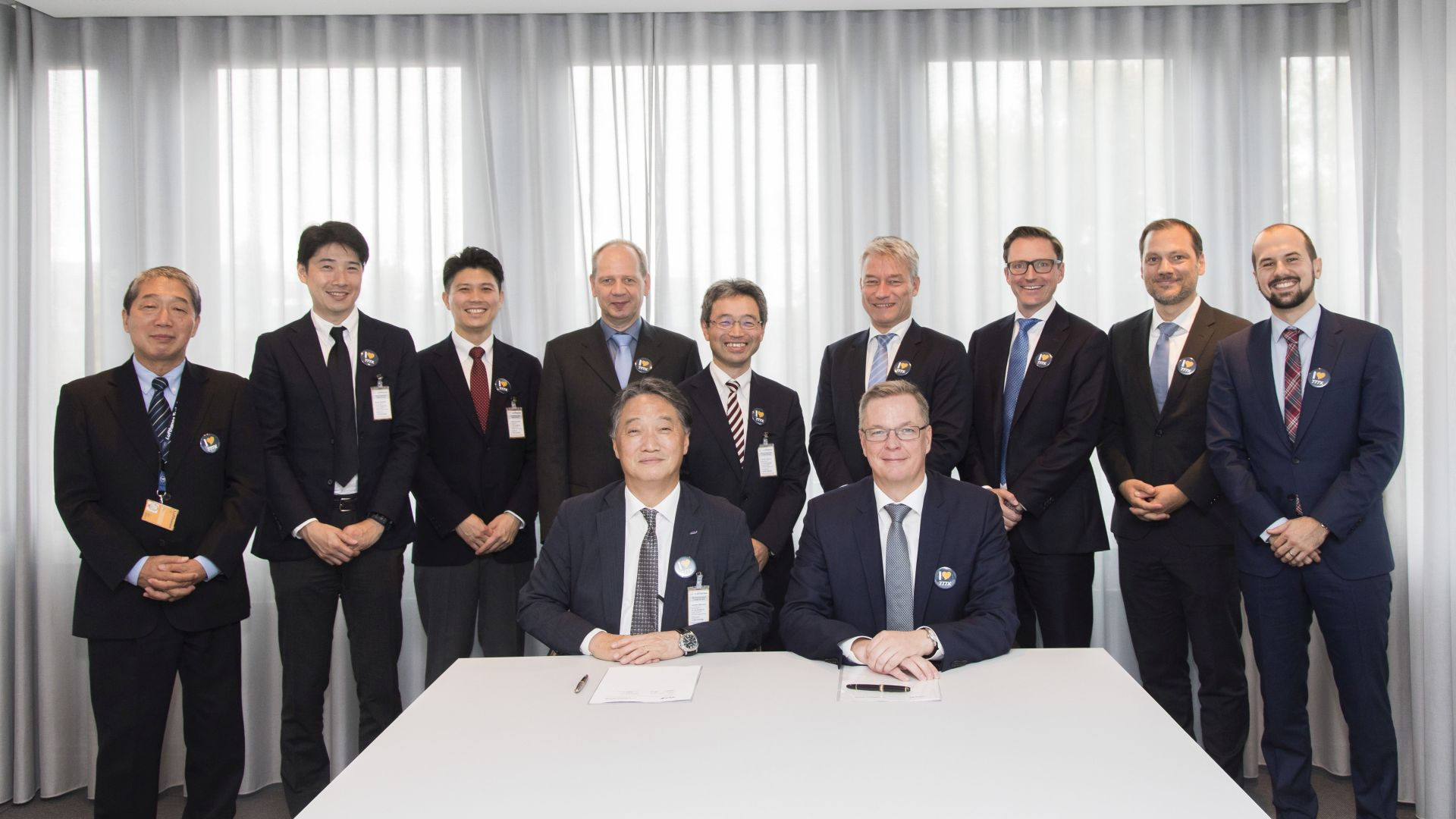 MoU with All Nippon Airways for technical collaboration on Boeing 777-9