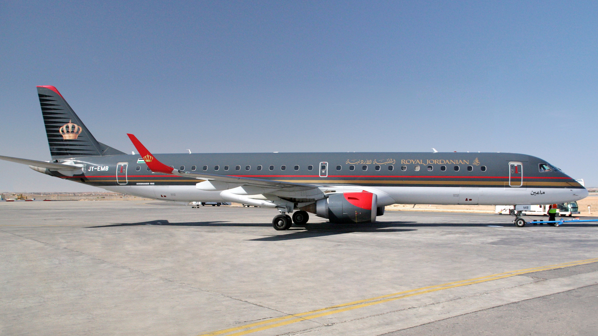 Hawker Pacific provides landing gear services for Royal Jordanian